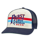 PABST Blue Ribbon Beer Sinclair Style Trucker Hat Multi-Color - $34.98