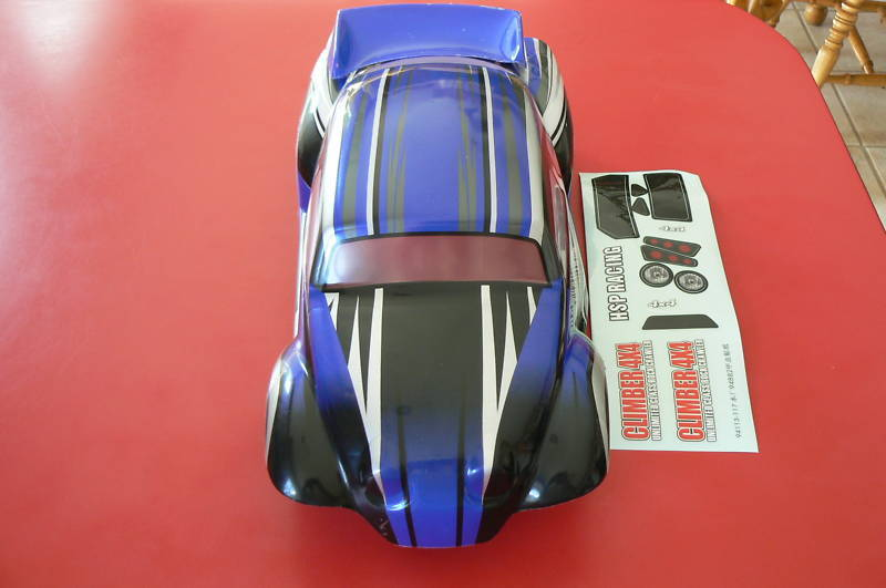 1/10 SCALE VW BAJA R/C BODY WITH OPTIONAL WING 88215