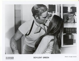 Soylent Green Charlton Heston Leigh Taylor-Young Press Promo Photo Film ... - $5.99