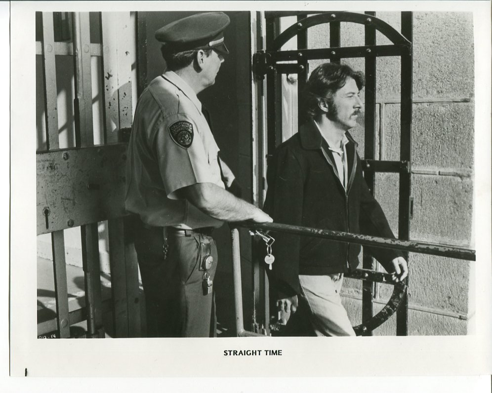 Straight Time Press Photo Dustin Hoffman Movie 1978 Jail Prison
