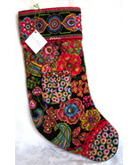 Vera Bradley Christmas Stocking Symphony in Hue New with Tags - $32.00