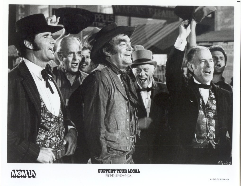 Support Your Local Gunfighter James Garner Jack Elam Press Promo Photo