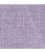 FABRIC CUT 12x12 30ct lilac linen for Girls Night Out halloween Weeks Dy... - $9.00