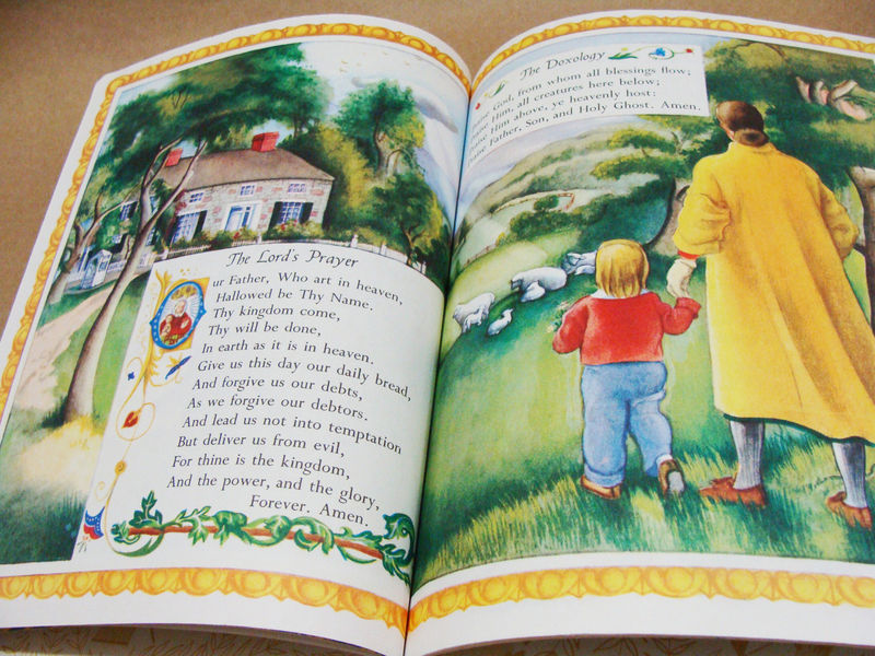PRAYERS FOR CHILDREN Book Eloise Wilkin 1999 Little Golden NURSERY TODDLER