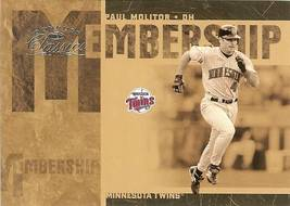 2005 DONRUSS MINNESOTA TWINS PAUL MOLITOR SERIAL # 431/1000 - $2.50