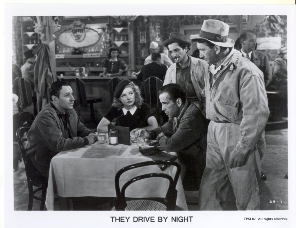 They Drive By Night Humphrey Bogart Ann Sheridan Press Promo Photo