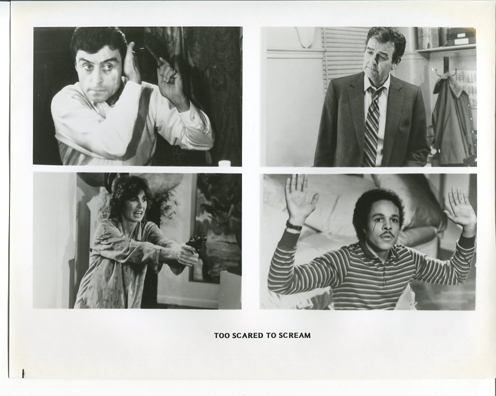 Too Scared to Scream Press Photo Mike Connors Anne Archer Leon Isaac Kennedy