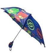PJ Masks Boys' Little Assorted Character Rainwear Umbrella Blue Age 3-7 - $13.16