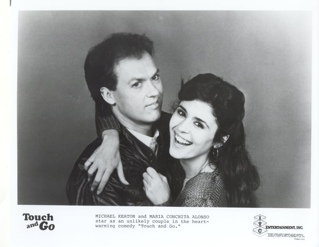 Touch and Go Michael Keaton Maria Conchita Alonso Press Promo Photo #2 Film