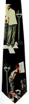 Doctor & Patient Men's Necktie Medical Office Exam Novelty Black Neck Tie - $15.79