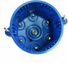 A-Team Performance 6-Cylinder Male Pro Series Distributor Cap & Rotor Kit BLUE image 5