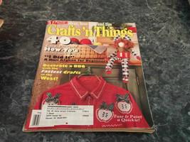 Craft 'n Things Magazine August 1995 Marbleized Granite Vase - $2.99