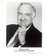 Walter Cronkite World of Nature Press Publicity Photo Robert Mitchum Fil... - $5.98