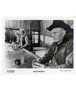 Westworld Yul Brynner Richard Benjamin Press Promo Publicity Photo Movie... - $5.99