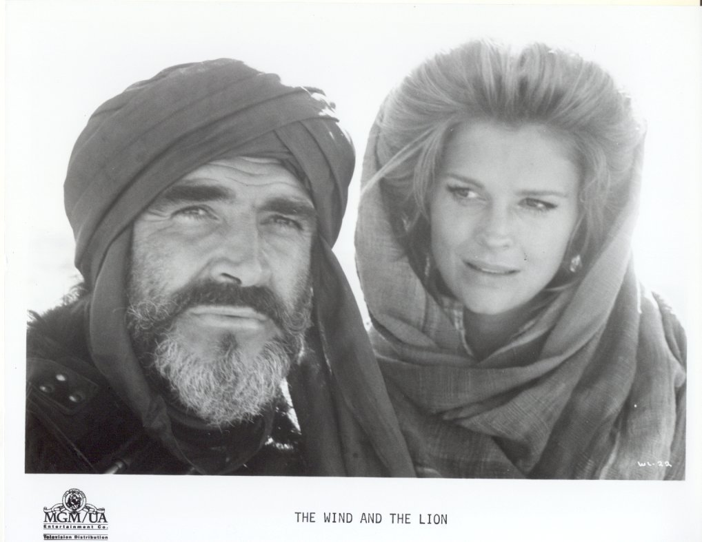 Wind and the Lion Sean Connery Candice Bergen Press Promo Publicity Photo Film