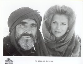 Wind and the Lion Sean Connery Candice Bergen Press Promo Publicity Phot... - $5.98