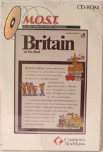 Britain At Its Best An Interactive Guide to the Treasures of the British... - $19.99