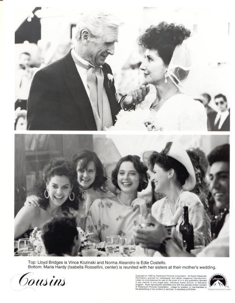 6 Cousins Ted Danson Sean Young Isabella Rossellini 1989 Press Photo Movie Film
