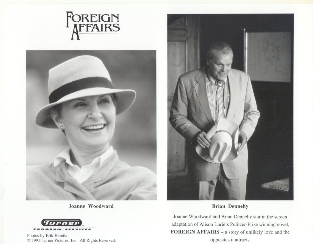 Foreign Affairs Brian Dennehy Joanne Woodward Press Photo Movie Film