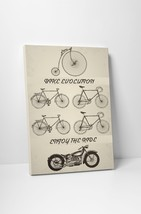 "Bike Evolution Motorcycle Pop Art Gallery Wrapped Canvas Print 30""x20 or... - $42.52+"