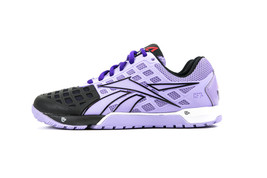 Reebok Women's Crossfit Nano 3.0 Black & Purple Training Shoes Style #V53244 - $89.99