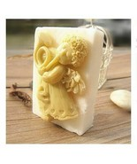 Trumpeter Shape Silicone Mould Handmade Soap Candle Making Resin Candy C... - $21.49