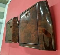 Wood Picnic Table Set Walnut Burlwood Fit For Mercedes W163 ML320 1998-2005 2 PC - $1,290.09