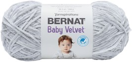 Bernat Baby Velvet Yarn-Misty Gray - $25.96