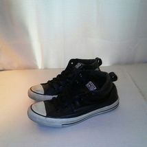 Sneakers 5 6 Black Converse Size Leather Mens SnwxOqAgR