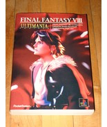 Final Fantasy VIII Ultimania Japanese import strategy guide art book 480... - $18.99