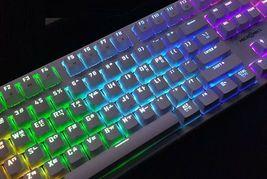 Micronics X40 Mechanical Gaming Keyboard English Korean Jixian Optical (White) image 6