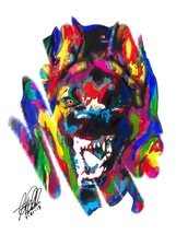 "German Shepherd, Police Dog, Pet, 18""x24"" Art Print 2 - $19.99"