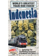 World's Greatest Train Ride Videos: Indonesia [VHS Tape] (1996) Francois... - $11.99