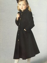Vogue Sewing Pattern Little Vogue 9043 Girls Jacket Coat Size 2-5 New - $17.38