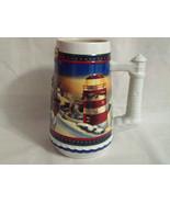 2002 Budweiser Guiding the Way Home Holiday Stein Ceramic Beer Mug 7 Inc... - $3.99