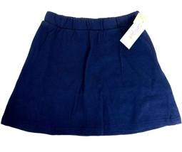 Cat & Jack Girls Size L 10-12 Cotton School Uniform Built-In Shorts Skir... - $6.92