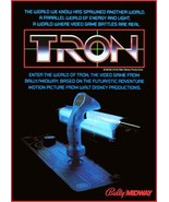 Video Arcade Game Stand-Up Display TRON - Missle Command Asteroids Pac-Man - $15.99