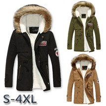 Hot Sale Men Parka Winter Coats Casual Fashion Mens Winter Jackets Stand... - $57.94