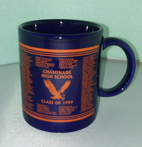 CHAMINADE HIGH SCHOOL Mug / CLASS OF 1999 West Hills California Beverly ... - $29.69