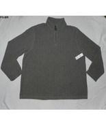 Faded Glory Size 2XL (50-52) Grayish Brown Heather Fleece Big Mens Shirt... - $18.99