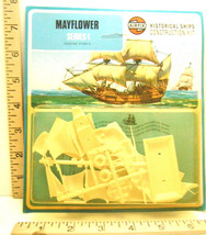 1973 Airfix Historical Series Sailing Ship Mayflower Small Scale Series ... - $16.82