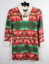 Polo Ralph Lauren girls long sleeve polo shirt dress cotton size M 8-10 - $16.68
