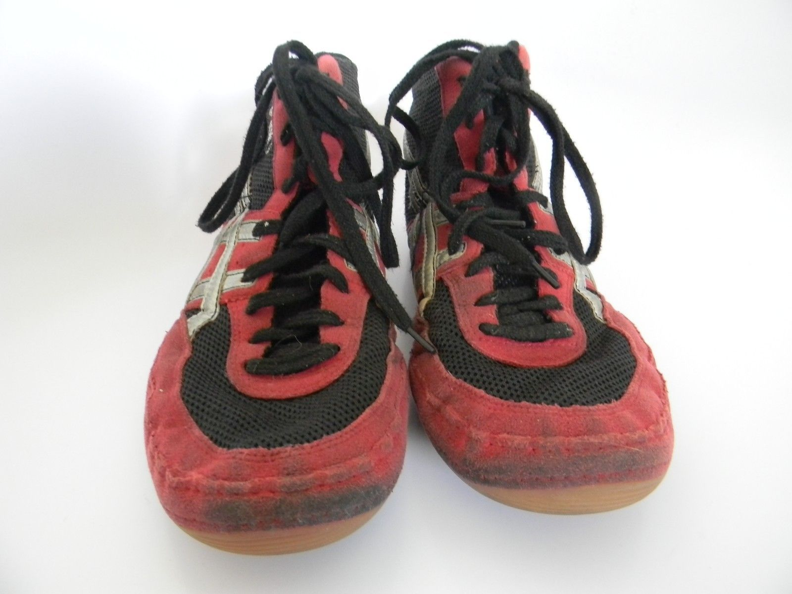 dec635bdf5a Mens Asics Red\Black\Silver Wrestling Shoes and 50 similar items. S l1600