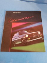 1985 Vintage Chevrolet Brochure LOT.CHEVETTE/CELEBRITY/CAVALIER. - $11.29
