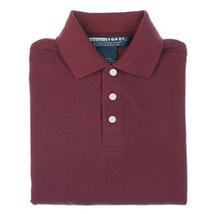 School Uniforms 18 Husky Burgundy Wine Maroon S/S Unisex Polo Shirt French Toast - $12.70