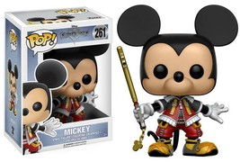 Funko Pop Kingdom Heart Mickey Mouse Vinyl Figure #261 12362 NEW - $10.99