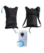 MOLLE Military Tactical Hydration Backpack With 2L Water Bladder Hiking ... - $15.95