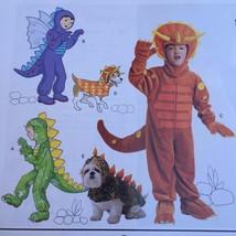 Simplicity Sewing Pattern 1765 Boys Child Dog Costumes Dragon Dinosaur S... - $15.44