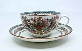 Rorstrand Gorgeous Handpainted Coffee Tea Cup and Saucer Set Sweden Vint... - $92.85