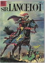 Sir Lancelot Four Color Comic Book #606 Dell Comics 1954 VERY FINE- - $39.59